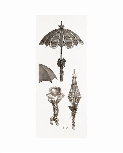 Sunshade And Collar, Umbrella by Anonymous