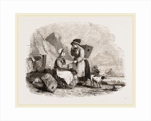 Cornish Fisherwomen of Mount's Bay, UK by Anonymous