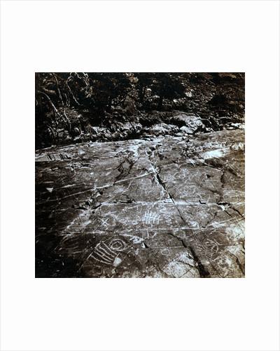 Hieroglyphic Rocks, on the Yuba River, near Crystal Lake by Anonymous