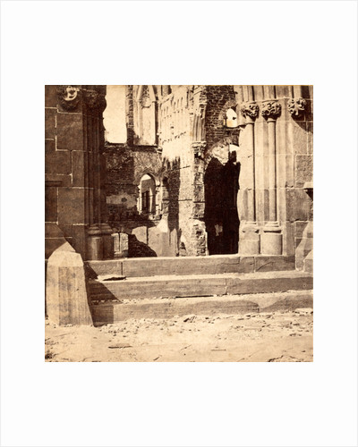 Ruins of the Roman Catholic Cathedral. Interior view by Anonymous