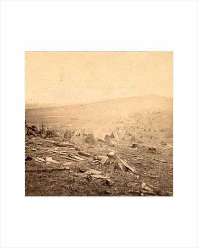 View of the outer trenches on the last day of the battle in front of Nashville, Tenn., Dec. 16, 1864, showing the ground where the most desperate charges were made by Anonymous