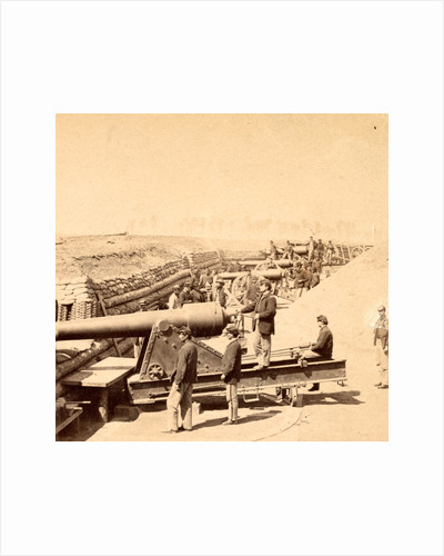 Ft. Brady, James River, Va. View showing battery ready for action by Anonymous
