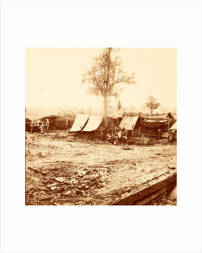 A Confederate redoubt, USA by Anonymous