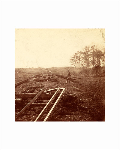 How Sherman's boys fixed the railroad, USA by Anonymous