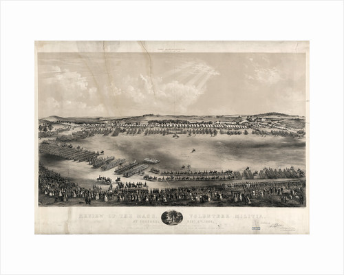 Review of the Mass. volunteer militia, at Concord, Sept. 9, 1859, by his excellency (commander in chief) Nathaniel P. Banks by Anonymous