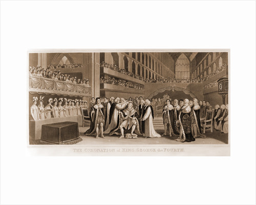 The coronation of King George the fourth by J. Fussell