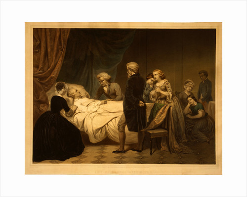 Life of George Washington The Christian death by Junius Brutus Stearns