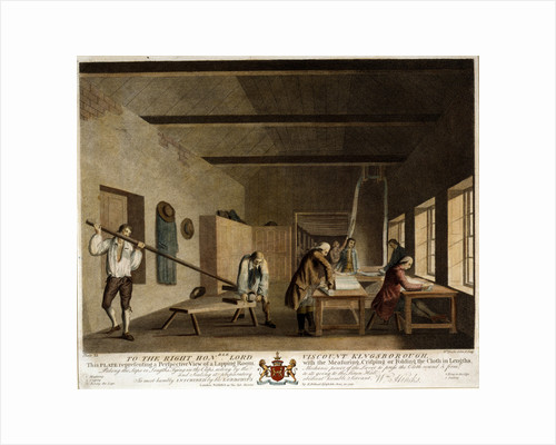 A perspective view of a lapping room by Anonymous