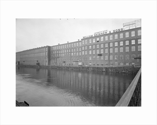 Mt. Holyoke, Massachusetts - Scenes. The Canal by Lewis Hine