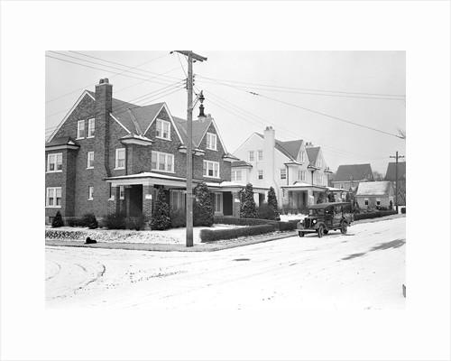 Lancaster, Pennsylvania - Housing. Houses near Hamilton Watch Company by Lewis Hine