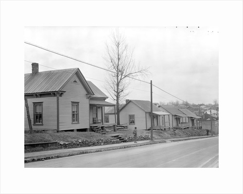 High Point, North Carolina - Housing. Row of company-owned homes of furniture workers by Lewis Hine