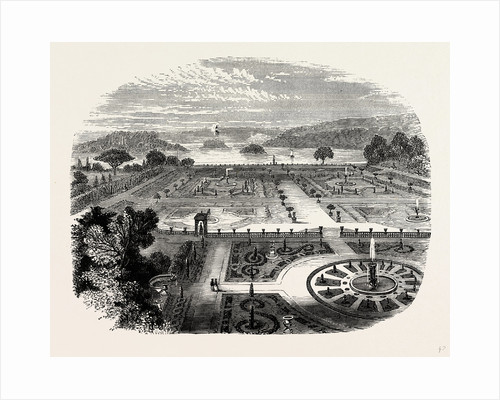 The Upper Terrace Garden by Anonymous