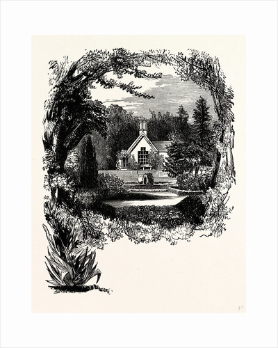 Children's Cottage and Gardens, Trentham by Anonymous