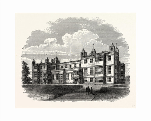 The West Front, Audley End by Anonymous