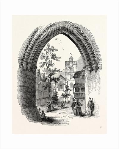 Entrance Bartholomew Close, Smithfield, London by Anonymous