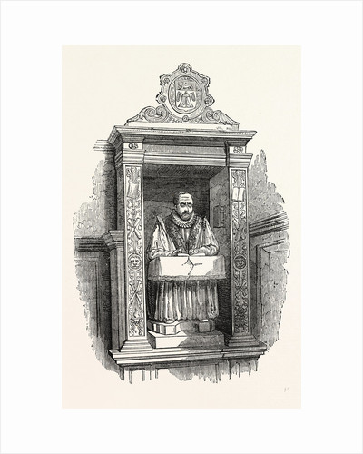Stow's Monument, Church St. Andrew Undershaft, London by Anonymous