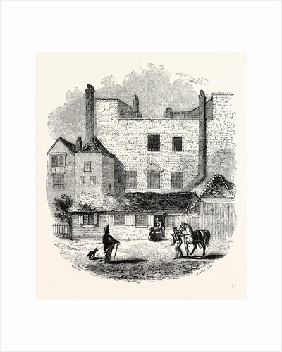 Exterior Beauchamp Tower from the Parade, c 1845, London by Anonymous
