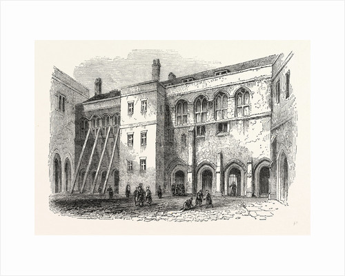 North side Priory Cloisters, London by Anonymous