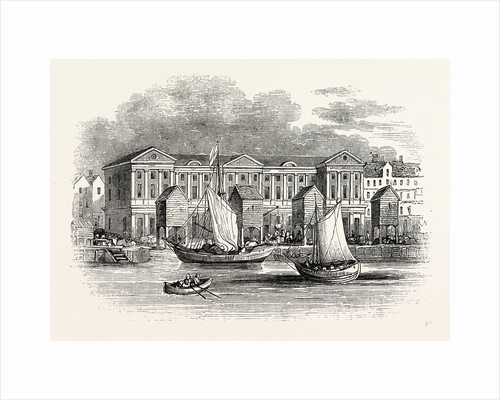 Old Custom House. Destroyed by fire 1814, London by Anonymous