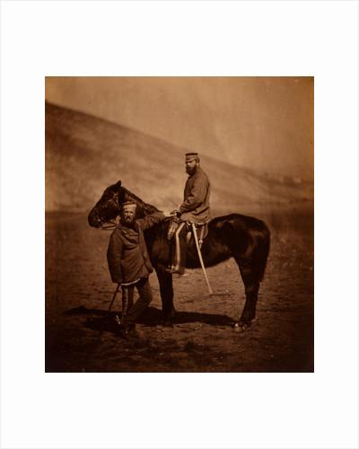 Captain Phillips & Lieutenant Yates, 8th Hussars, Crimean War by Roger Fenton