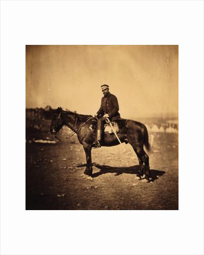 Major Hallewell, Assistant-Quarter-Master-General, Crimean War by Roger Fenton