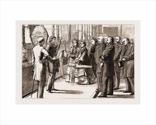 Visit Of The Queen To The Loan Collection Of Scientific Apparatus At South Kensington, London by Anonymous