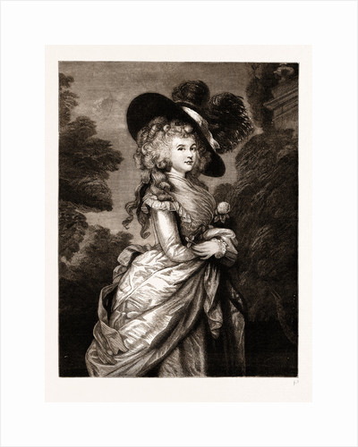 Georgiana, Duchess Of Devonshire: The Gainsborough Portrait by Anonymous