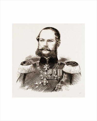 Prince Frederick Charles Alexander Of Prussia, Brother Of The Emperor William And Grandfather Of The Duchess Of Connaught by Anonymous