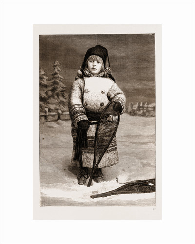 Little Snowshoes, A Canadian Sketch by Anonymous