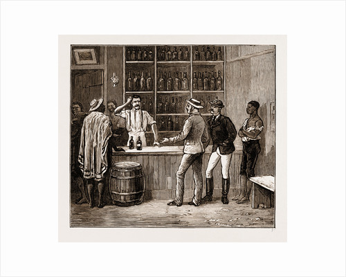 Illicit Diamond Buying At The Cape, South Africa, 1883 by Anonymous