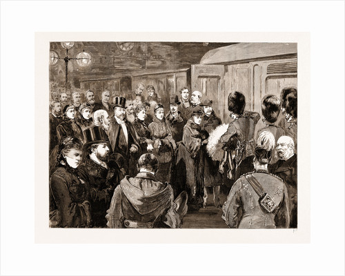 Departure Of The Duke And Duchess Of Connaught For India by Anonymous