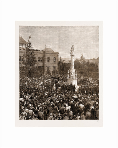 The Zulu War Memorial At Pietermaritzburg, South Africa, 1883 by Anonymous