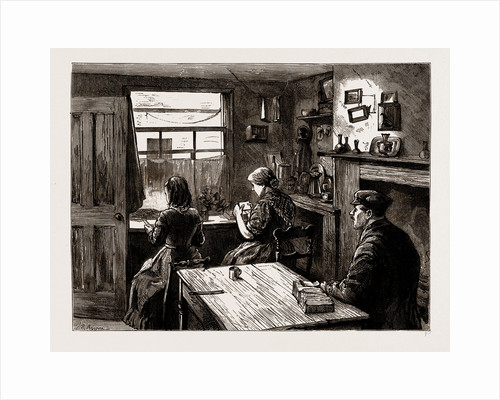 A Match-box Maker's Home, 1883 by Anonymous