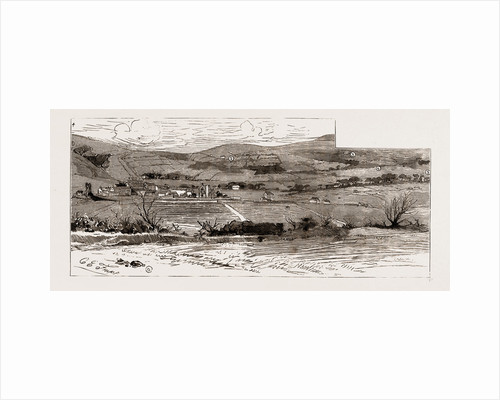 A View Near Castleisland, Showing The Scenes Of The Outrages, 1886 by Anonymous