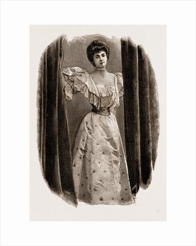 A Ball Dress, UK, 1897, Fashion by Anonymous