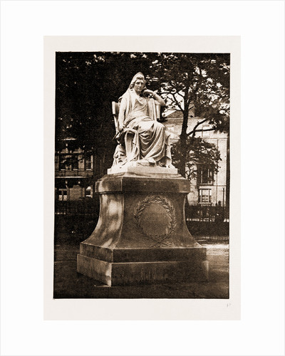 The Statue Of Mrs. Siddons, Unveiled On Paddington Green By Sir Henry Irving, 1897 by Anonymous