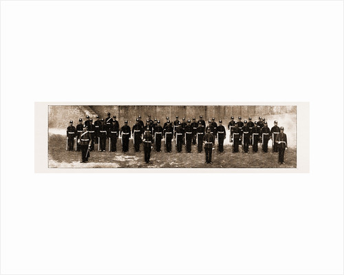The Royal Guernsey Militia: The Detachment In London For The Jubilee, UK, 1897 by Anonymous