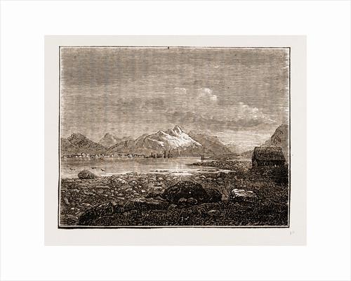 Tromsoe, Norway Engraving 1873 by Anonymous