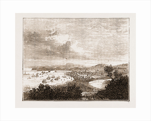 Drontheim, Norway Engraving 1873 by Anonymous
