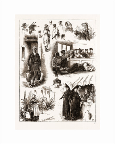Spanish Affairs-character Sketches On The Railway From Madrid To Seville, Spain 1873 by Anonymous