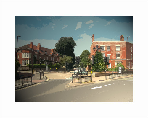 Road Junction at Five Lamps by Sarah Smith
