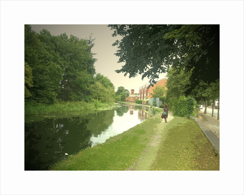 The Erewash Canal at Long Eaton by Sarah Smith