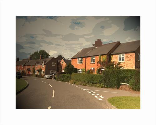 Alms Road in Doveridge by Sarah Smith