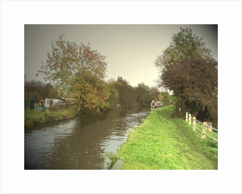 The Trent and Mersey Canal near Clay by Sarah Smith