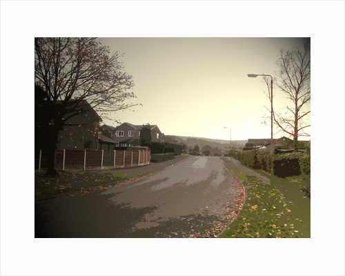 Shirebrook Drive in Glossop by Sarah Smith