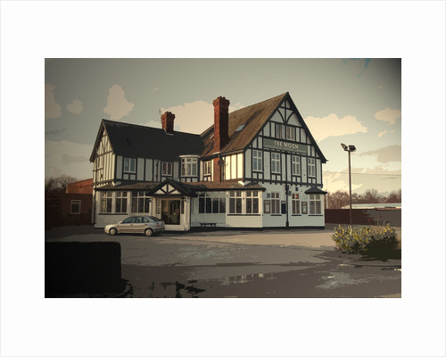 The Moon Public House in Spondon by Sarah Smith