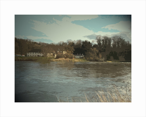 Priest House Hotel and River Trent by Sarah Smith