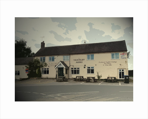 The Yeaveley Arms in Yeaveley Village by Sarah Smith