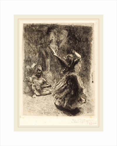 The Dancer of Tanjore (La bayadère de Tanjore) by Albert Besnard