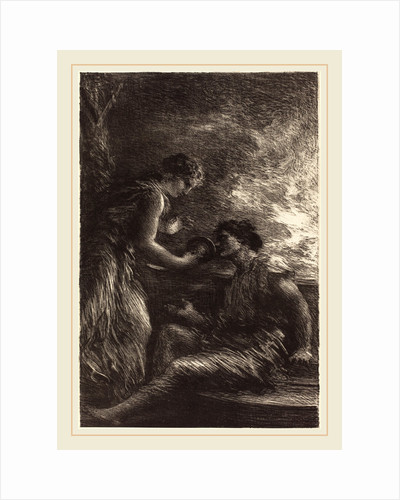 Sieglinde and Siegmund from Act I of The Valkyrie by Henri Fantin-Latour